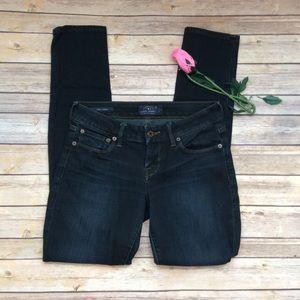 Lucky brand dark wash Lolita Skinny jeans